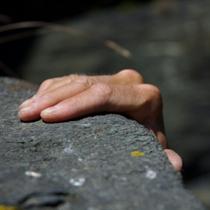 Hand-on-ledge