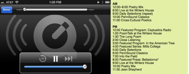 Pennsound-radio