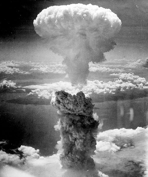 Explosion Atomic Bomb -Nagasakibomb